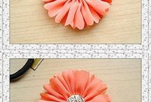 Crafts Fabric Flowers