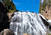 Travel - National Parks USA / Interesting sights in the National Parks in USA including Yellowstone NP, Yosemite NP, Glacier NP