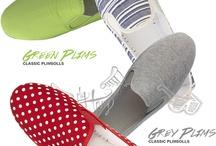 Plimsoll Shoe's / Flossy's Classics Plimsoll Range