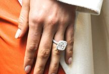 Engagement Rings / The Engagement Ring is a symbol of commitment in the lifelong journey of marriage. These are examples of that expression.