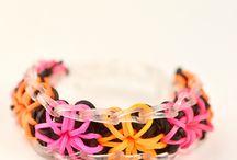 Loom Bracelets / by Rebecca Polsinelli