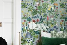 Wall paper inspiration