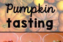 Pumpkins / pumpkin activities for kids