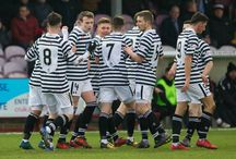 Arbroath 13 Jan 18 / Pictures from the Ladbrokes League One game between Arbroath and Queen's Park. Match played at Gayfield Park on Saturday 13 January 2018. Arbroath won the game 2-1.