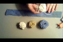 çuvaldan çiçek yapımı