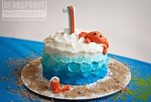 A whale of a first birthday / by Amy Contois Farrior