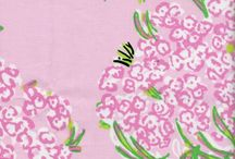 Lilly Girl Fabric Color Combo Ideas / by Pam Rutledge
