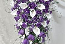 Bridal flower arrangements