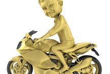 motorbikependant