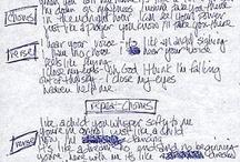 Handwritten Lyrics and more