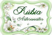 Decorações que fiz / http://rubiaartes.blogspot.com.br