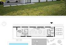 linear floor plan
