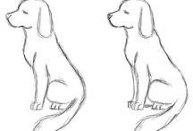 Zeichnen lernen (Tiere und so weiter)