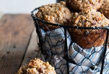 Baking Muffins-  Apple & Ginger