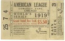 Pre-1920 World Series Ticket Stubs / The World Series has been played yearly since 1903, aside from wartime years. Here are some of the earliest of World Series ticket stubs from www.TicketStubCollection.com
