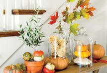 Fall Home Decorating / Do it yourself decorating
