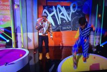 Nickelodeon's Halo Awards show! / Another door installation of ours was on national TV!  Check out the rolling door we did for the stage set of Nickelodeon's Halo Awards show!  #Nickelodeon #HaloAwards #GraffitiArt #Proud