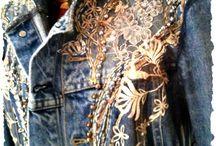 Jeans decor
