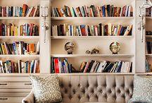Ting og tang, med masse bøker...