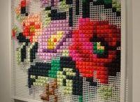 cross stitch / by Brittany Sorensen