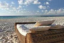 Strand,zee en uitzicht
