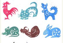 Chinese zodiac art