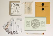 Reference // Great Invitations  / Stylistic Inspiration for Clients