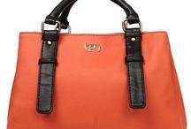 Handbags / Bagsy Malone Bmha6oe Orange Satchel Bags