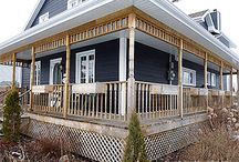 Build Wrap Around Deck Porch - Victorian Design / Buildings steps:  ►1: Demolition - Installing ledger board  ►2: Screw piles for deck or patio  ►3: Deck framing - The joists  ►4: Decking Deck and Porch  ►5: Build Stairs and Deck Railings  ►6: Finishing Victorian Wrap-around deck