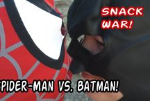 Superhero Battles / Our YouTube channel featuring superhero pretend fights with Spider-Man, Superman, Batman, Captain America and more!  YouTube channel at https://www.youtube.com/channel/UCDX-tXSgz1SbUrZTdsRJGCA