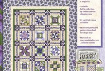 In the Press / Ads and articles about Maywood Studio fabric!