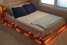 κρεβάτι παλετες