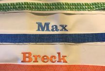 Embroidery (Brother ProX1050) projects done / Brother ProX 1050
