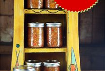 Salsas -- Can your own homemade salsas / Canning homemade salsas that you can make with or without sugar and salt
