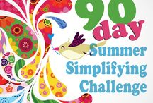 90-Day Summer Simplifying Challenge