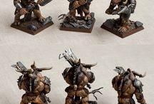 Figurki Beastmen