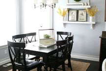 Dinning room / by Jessica Womack-Brawley