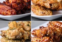 Four ways to make wings