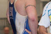 wrestling butts