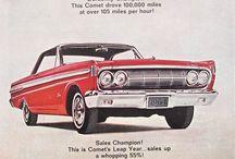 Vintage Car Ads / Beauty on Four Wheels   #vintage #car #advertisng