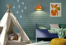 Camera copiilor / Colorful, vivid and bright, a child's room is filled with impressive details.