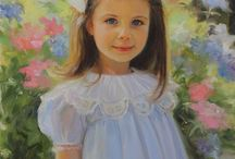 Beautiful Paintings And Portraits Of Children