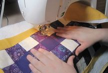 quilting / by Carol Wright
