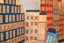 Kapla Houses / Great pictures of houses created with Kapla blocks.