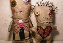 creepy rag dolls