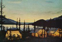 Camping, glamping, etc. / by Carol Hagele