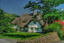 старинные английские дома