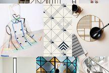 Stíluslap/ geometrikus