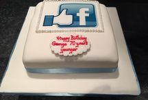 Facebook cake / Facebook cake