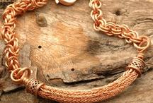 Viking knit jevellery / Wire work